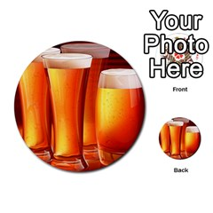Beer Wallpaper Wide Multi Purpose Cards (round)