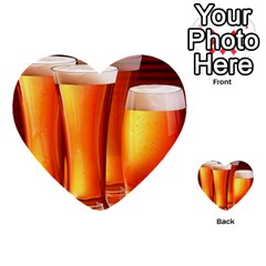 Beer Wallpaper Wide Multi Purpose Cards (heart)