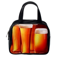 Beer Wallpaper Wide Classic Handbags (one Side)