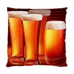 Beer Wallpaper Wide Standard Cushion Case (one Side)