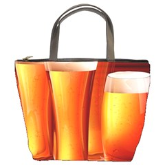 Beer Wallpaper Wide Bucket Bags