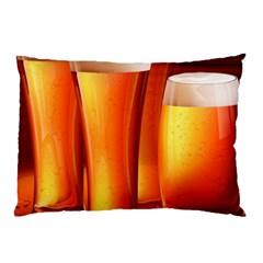 Beer Wallpaper Wide Pillow Case