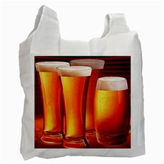 Beer Wallpaper Wide Recycle Bag (two Side)
