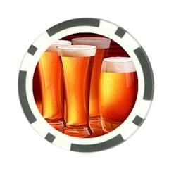 Beer Wallpaper Wide Poker Chip Card Guards (10 Pack)