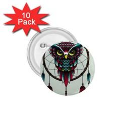 Bird 1 75  Buttons (10 Pack)