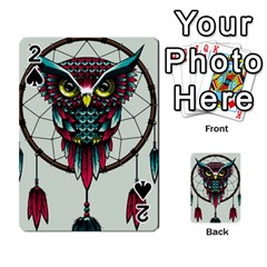 Bird Playing Cards 54 Designs