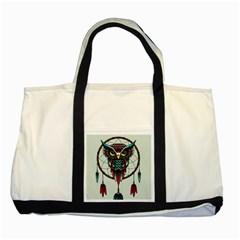 Bird Two Tone Tote Bag