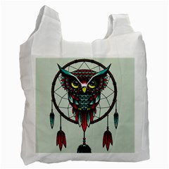 Bird Recycle Bag (two Side)