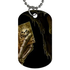 Cart A Dog Tag (one Side)
