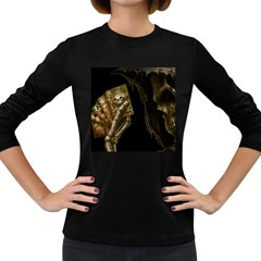 Cart A Women s Long Sleeve Dark T Shirts