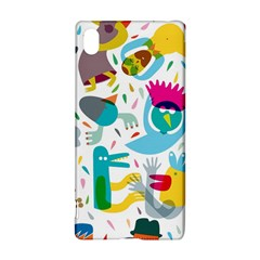 Colorful Cartoon Funny People Sony Xperia Z3+