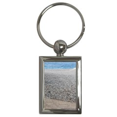 Pebble Beach Photography Ocean Nature Key Chains (Rectangle)