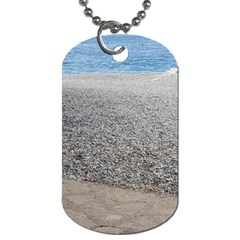 Pebble Beach Photography Ocean Nature Dog Tag (One Side)