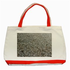 Pebble Beach Photography Ocean Nature Classic Tote Bag (Red)