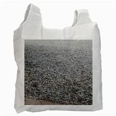 Pebble Beach Photography Ocean Nature Recycle Bag (One Side)