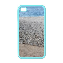 Pebble Beach Photography Ocean Nature Apple iPhone 4 Case (Color)