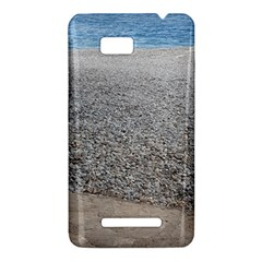 Pebble Beach Photography Ocean Nature HTC One SU T528W Hardshell Case