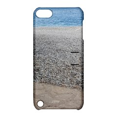 Pebble Beach Photography Ocean Nature Apple iPod Touch 5 Hardshell Case with Stand