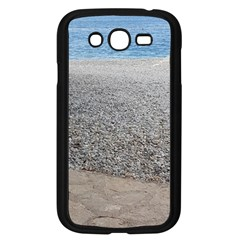 Pebble Beach Photography Ocean Nature Samsung Galaxy Grand Duos I9082 Case (black)