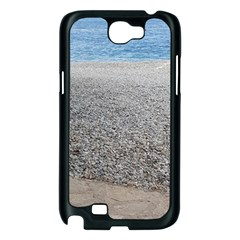 Pebble Beach Photography Ocean Nature Samsung Galaxy Note 2 Case (Black)