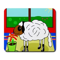 Urban sheep Large Mousepads