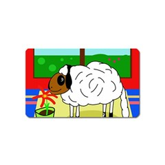 Urban sheep Magnet (Name Card)
