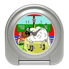 Urban sheep Travel Alarm Clocks