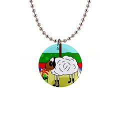 Urban sheep Button Necklaces