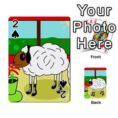 Urban sheep Playing Cards 54 Designs