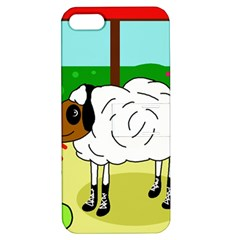 Urban sheep Apple iPhone 5 Hardshell Case with Stand