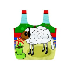 Urban sheep Full Print Recycle Bags (S)