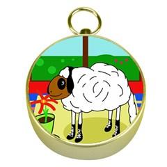Urban sheep Gold Compasses