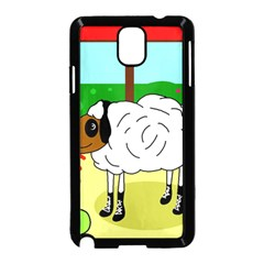 Urban sheep Samsung Galaxy Note 3 Neo Hardshell Case (Black)