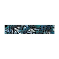 Old Spiderwebs On An Abstract Glass Flano Scarf (Mini)