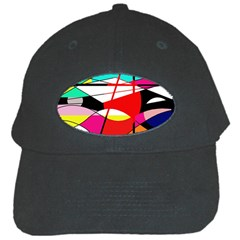Abstract waves Black Cap