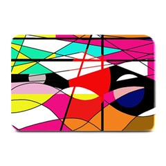 Abstract waves Plate Mats