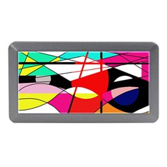 Abstract waves Memory Card Reader (Mini)