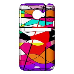 Abstract waves HTC Evo 4G LTE Hardshell Case