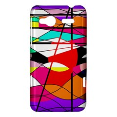 Abstract waves HTC Radar Hardshell Case