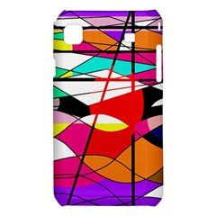 Abstract waves Samsung Galaxy S i9008 Hardshell Case