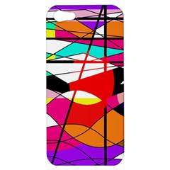 Abstract waves Apple iPhone 5 Hardshell Case