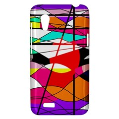 Abstract waves HTC Desire VT (T328T) Hardshell Case