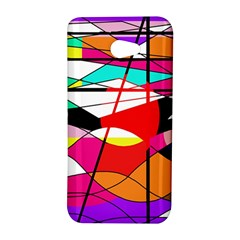 Abstract waves HTC Butterfly S/HTC 9060 Hardshell Case