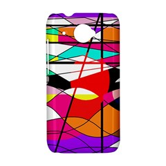 Abstract waves HTC Desire 601 Hardshell Case