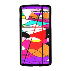 Abstract waves Nexus 5 Case (Black)