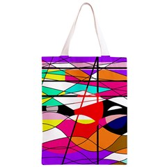 Abstract waves Classic Light Tote Bag