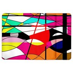 Abstract waves iPad Air 2 Flip