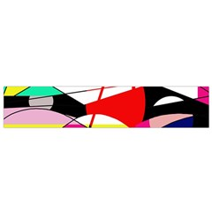 Abstract waves Flano Scarf (Small)