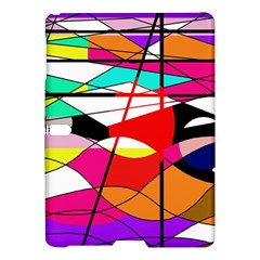 Abstract waves Samsung Galaxy Tab S (10.5 ) Hardshell Case