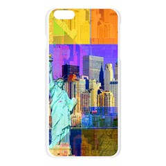 New York City The Statue Of Liberty Apple Seamless iPhone 6 Plus/6S Plus Case (Transparent)